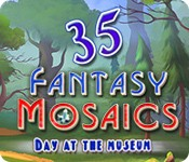 Fantasy Mosaics 35: Day at the Museum