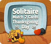 Solitaire Match 2 Cards Thanksgiving Day