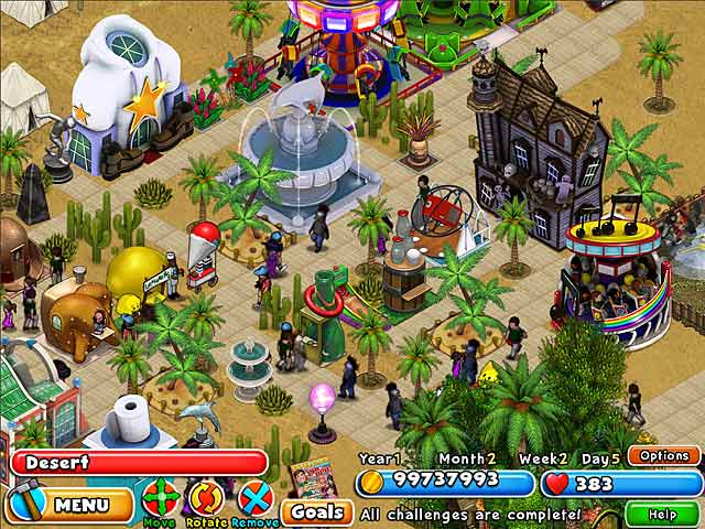 Dream Builder Amusement Park Game Play Free Download