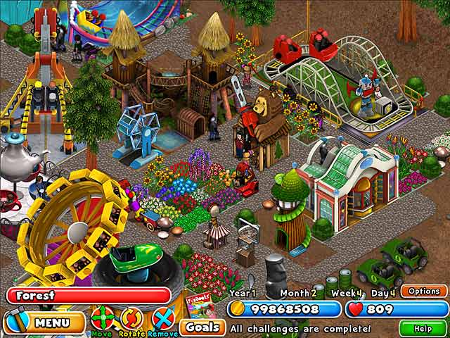 Image Result For Build A Amusement Park Games Free Online
