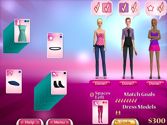 Fashion Solitaire Game|Play Online Games Free |Ozzoom Games
