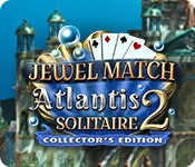 Jewel Match Solitaire: Atlantis 2 Collector's Edition