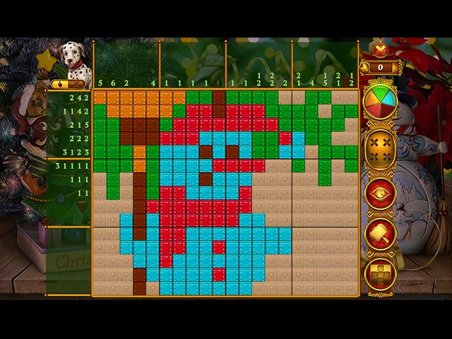Rainbow Mosaics: Christmas Lights 2 Game|Play Free Download Games|Ozzoom Games